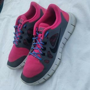 """Girl's Nike """"Free 5.0"""" shoes"""